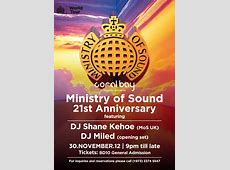 Coral Bay presents Ministry Of Sound's 21st Anniversary