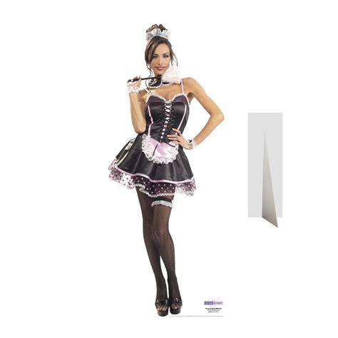 uniforme femme de chambre silhouette de soubrette en