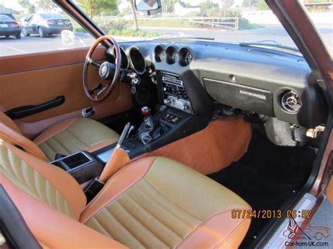 nissan fairlady 240z interior restored 1973 datsun 240z brown 5 speed documents 260z