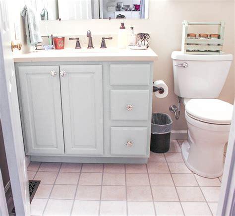 Diy Bathroom Vanity Makeover  Fit Crafty Stylish And