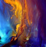 Waterfall Abstract Art Paintings