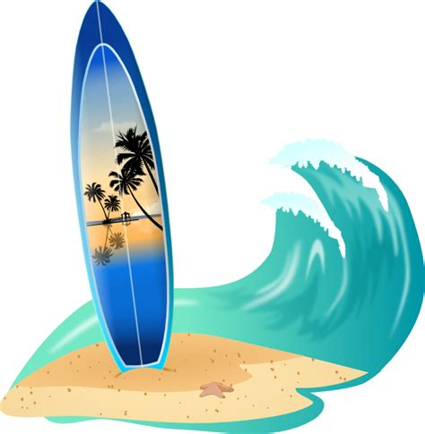 surf board clipart    clipartmag