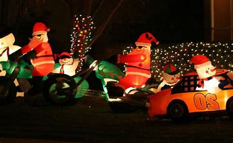 inflatable yard christmas decorations