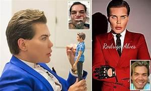 Barbie's 'Ken' Rodrigo Alves has insured his body for £1m ...