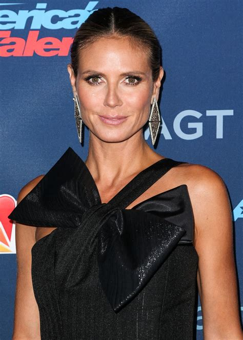 Heidi Klum Nbc America Got Talent Season Live