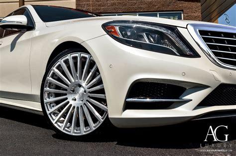 ag luxury wheels mercedes benz  agl duo block