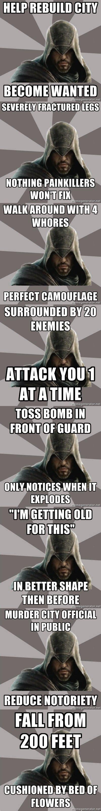 Assassins Creed 4 Memes - assassin s creed memes henchman 4 hire