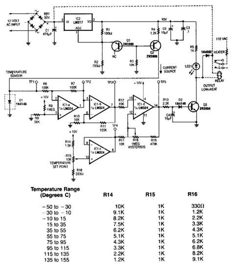 lm35 temperature sensor circuit diagram electronic circuits diagram