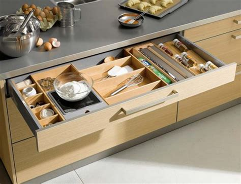 functional kitchen cabinet  drawer storage ideas
