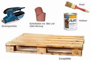 Paletten Möbel Selber Bauen : palettenm bel selber bauen schritt f r schritt erkl rt ~ Orissabook.com Haus und Dekorationen