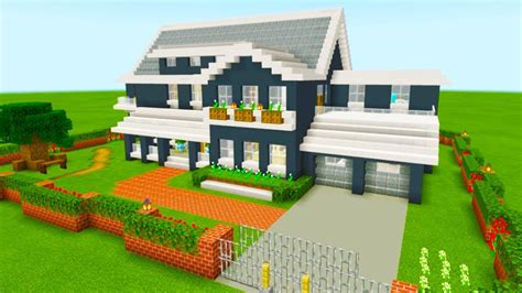 minecraft tutorial     ultimate suburban house  tutorial youtube