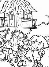 Coloring Tree Pages Treehouse Colouring Fun Boomhutten Magic Kleurplaat Dora Explorer Pdf Kleurplaten Fairy Boys Popular Zo Template Coloringlibrary sketch template