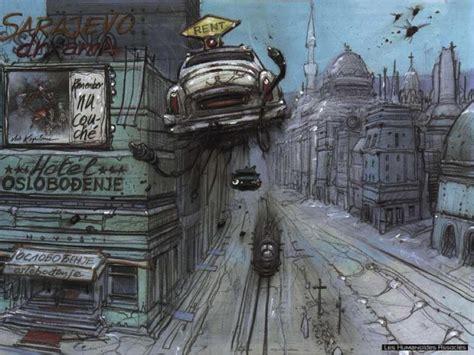 le si鑒e de sarajevo série café géo ville et bd 6 enki bilal sarajevo une ville en guerre la ville en guerre une sarajevo sciencesdessinées