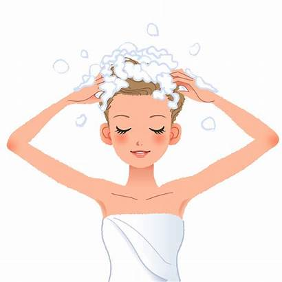 Clipart Shampoo Beauty Saloon Hair Clip Washing