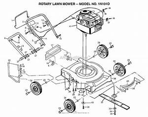 Ayp  Electrolux 1n101d  1996  Parts Diagram For Lawn Mower