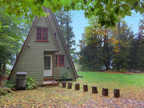 Cabin For Sale - 560 sq ft a frame cabin for sale in fort ny