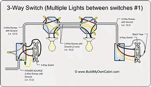 Wiring 3 Way Switch With Multiple Lights