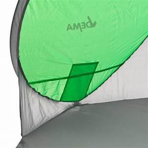 Lichtschutzfaktor Berechnen : strandmuschel pop up strandzelt sonnenschutz windschutz gr n grau ~ Themetempest.com Abrechnung