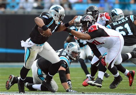Newton's Huge Day Leads Panthers Over Falcons 3020 Sports