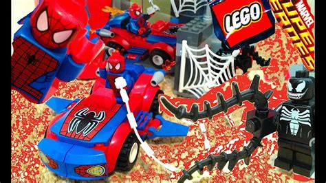 and venom lego juniors play set 10665 build