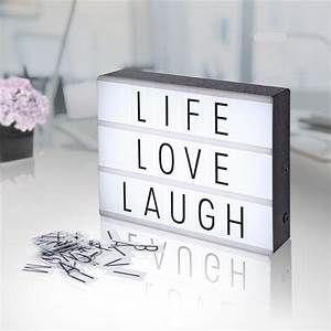 cinema light box diy letter display party shop wedding With light up letter box