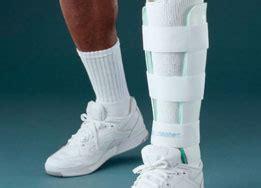 leg brace  stress fractures  duplex aircell system