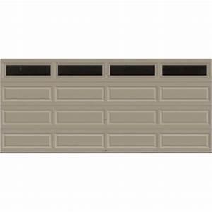 clopay premium series 16 ft x 7 ft 129 r value With 7 x 9 foot garage door