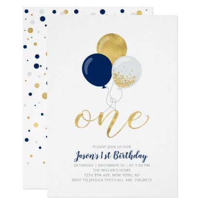navy blue silver balloons  st boy birthday