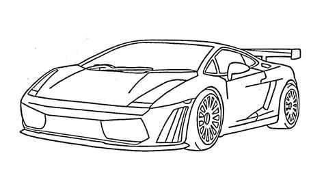 Lamborghini Outline Gallardo
