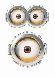 quick halloween party costume ideas minions goggles easy With minion eyes template