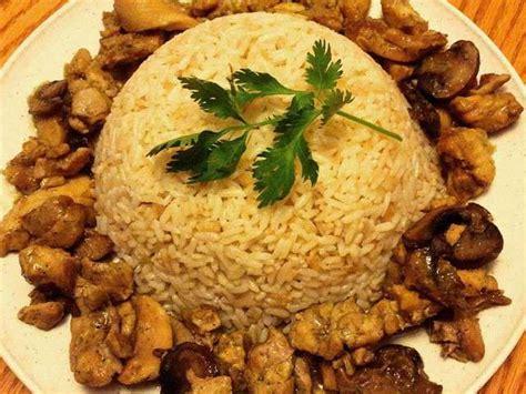 cuisine avec du riz recettes de riz et poulet 8