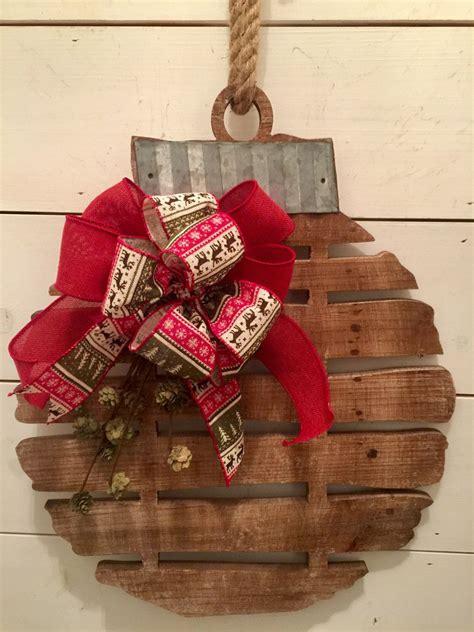 rustic wood bell christmas wall decor rustic christmas