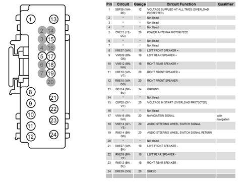2008 f150 radio wiring diagram 30 wiring diagram images