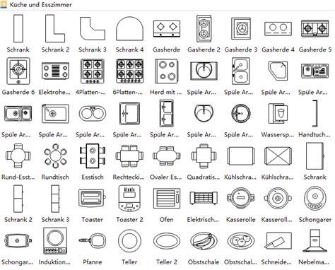 Grundriss Küche Zeichnen by Grundriss Symbole Grundriss Zeichnen Verwendung Der