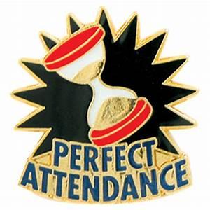 Perfect Attendance Pin - Jones School Supply