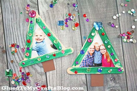 Popsicle Stick Christmas Tree Frame Ornaments Daybed In Living Room Ideas How Should I Arrange My Exclusive Furniture Ceramic Table Lamps For Diy Design Gray And Green Colors Rooms Walls Creative