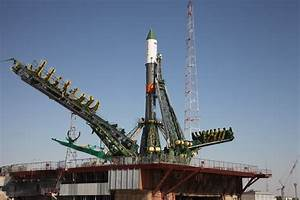 Soyuz rocket rolled out for critical ISS cargo launch ...
