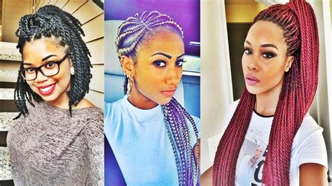 Super Hot Black Braided Hairstyles For Black Women 2017