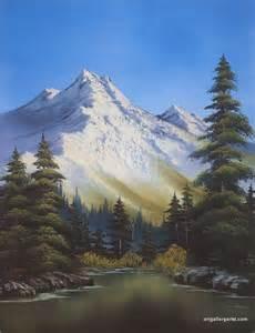 Bob Ross Painting Gallery