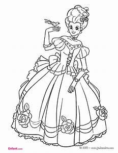 Coloriages Pour Fille La Princesse
