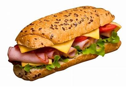 Sandwich Transparent Sandwiches Hamburger Clipart Fries French