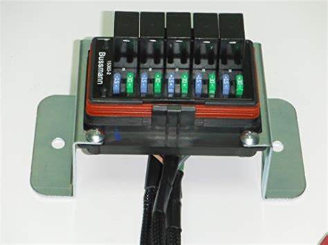 Picture And Description Of The Fuse And Relay Box On A 97 Toyotum Camry by Concours Specialties Universal Waterproof Relay Fuse