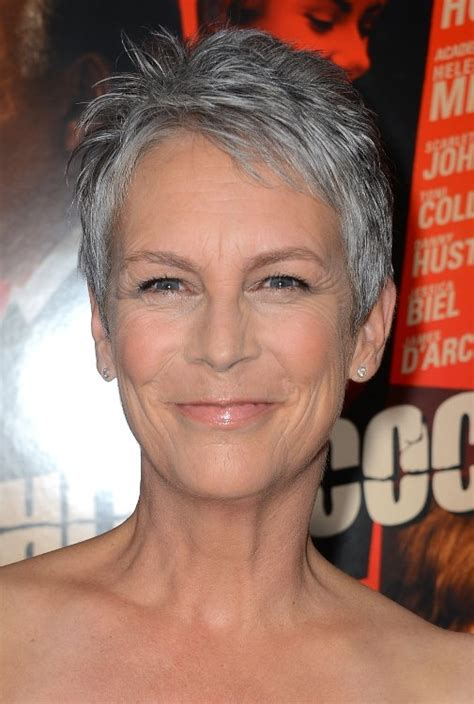 If you like to spend less than 10 minutes on hair and makeup. Short Hairstyles for Grey Hair|