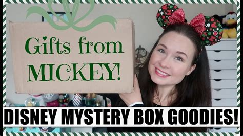 Gifts From Mickey! Disney Parks Subscription Unboxing
