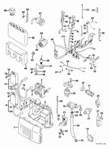 Evinrude Electrical System Parts For 1999 70hp E70pl4eec Outboard Motor