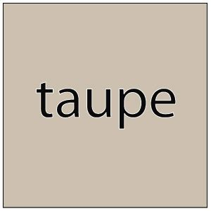 Taupe Farbe Definition by Newman S Blogosphere Taupe Is Brown