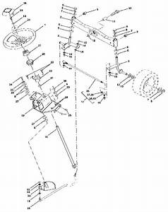Steering Assembly Diagram  U0026 Parts List For Model 917255980