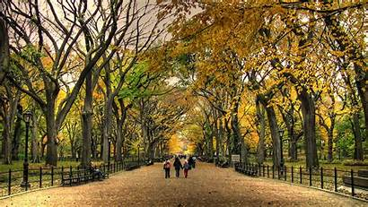 Central Park Wallpapers Fall York Background Autumn