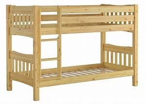 Erst Holz : etagenbett kiefer natur massivholzbett 90x200 stockbett ~ A.2002-acura-tl-radio.info Haus und Dekorationen