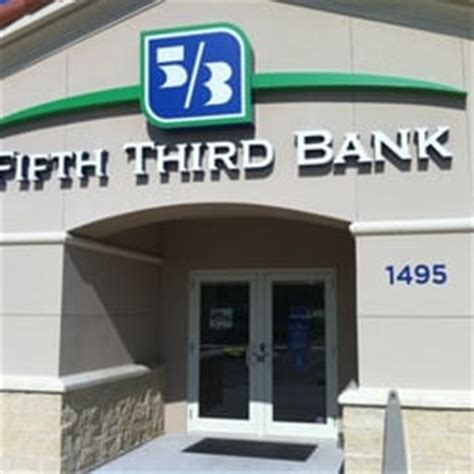 fifth third bank phone number fifth third bank banks credit unions 1495 rock